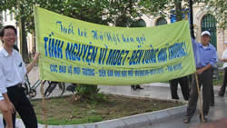 MDG Campaign in Hanoi