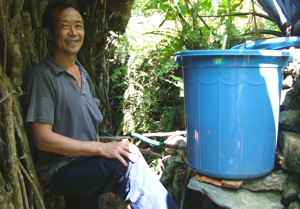 Simple water filter