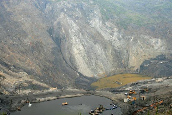 Mỏ than ở Hà Tu