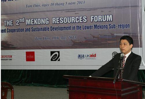 Diễn đàn Tài nguyên Mê Kông II do Trung tâm Con người và Thiên nhiên (PanNature) phối hợp cùng Hiệp hội Doanh nghiệp đầu tư ở nước ngoài (VAFIE), Hội Phát triển Hợp tác Kinh tế Việt Nam – Lào – Campuchia (VILACAED), Tổ chức Forest Trends và Tạp chí Đầu tư Nước ngoài tổ chức  tháng 05/2013.