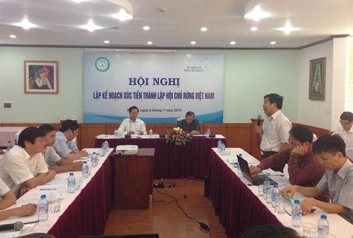 Xúc Tiến Thành Lập Hội Chủ Rừng Việt Nam