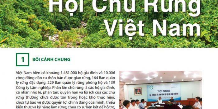 Vận động Thành Lập Hội Chủ Rừng Việt Nam