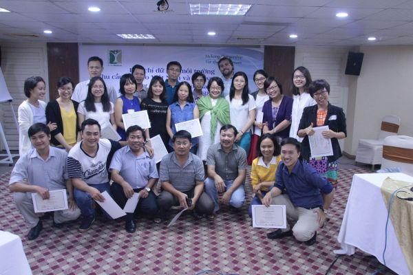 Các học viên của khóa tập huấn