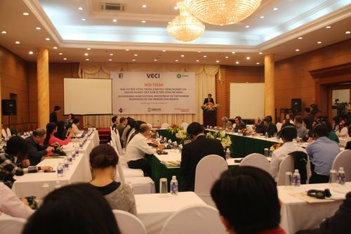 Hội Thảo: Đầu Tư Bền Vững Trong Lĩnh Vực Nông Nghiệp Của Doanh Nghiệp Việt Nam ở Tiểu Vùng Mê Kông