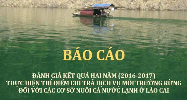 Đánh Giá Thực Hiện Chi Trả DVMT Với Các Cơ Sở Nuôi Cá Nước Lạnh ở Lào Cai