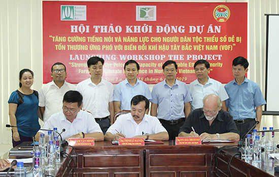 Khởi động Dự án ứng Phó Biến đổi Khí Hậu Tại Sơn La