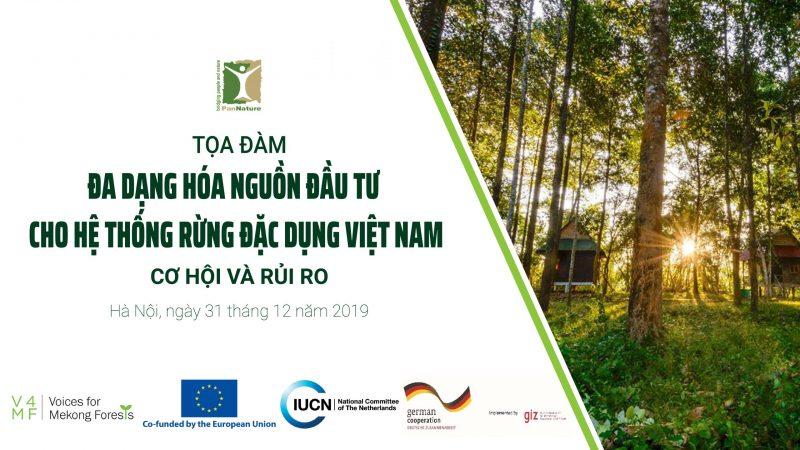 Đa Dạng Hóa Nguồn đầu Tư Cho Hệ Thống Rừng đặc Dụng Việt Nam: Cơ Hội Và Rủi Ro